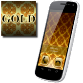 BIG! caller ID Theme Gold