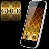 BIG! caller ID Theme Gold