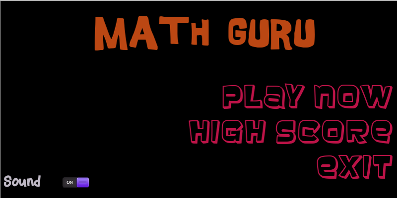 Math Guru- screenshot