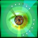 Eye retina test icon