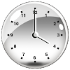 Transparent Horloge Widget