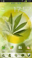 Screenshot of GO Launcher EX Weed Ganja