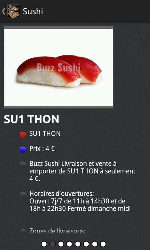 Buzz Sushi- screenshot