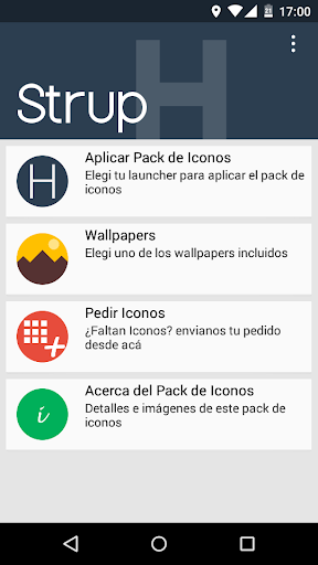 Strup H - Icon Pack