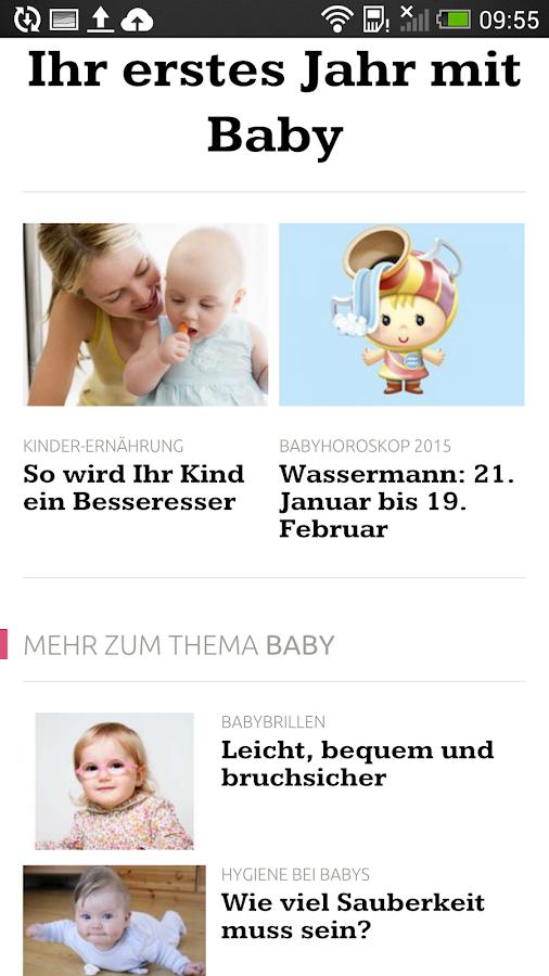 ELTERN online- screenshot