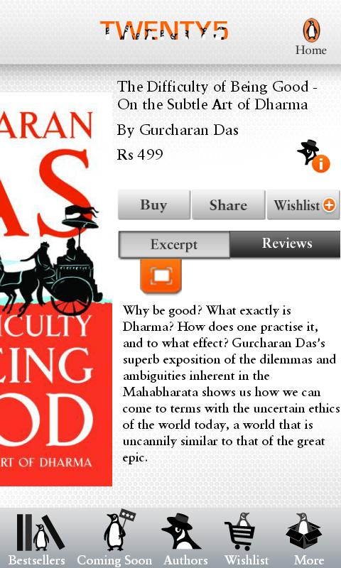 Penguin Books India - screenshot