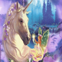 Glitter Unicorn and Fairy Live icon