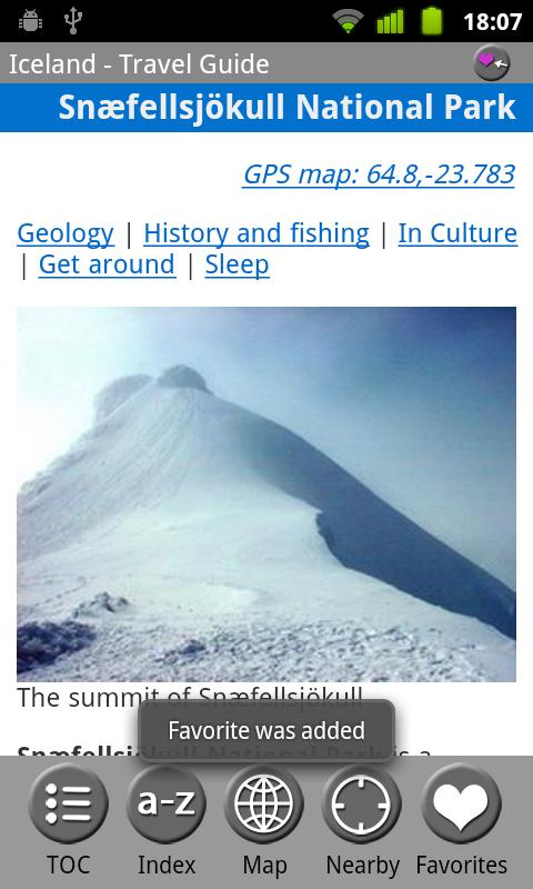 Iceland - FREE Travel Guide - screenshot