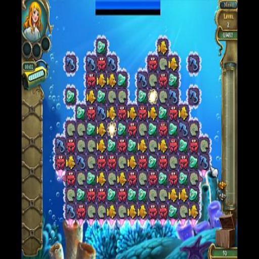 Deep Sea Dive Match Game 解謎 LOGO-阿達玩APP