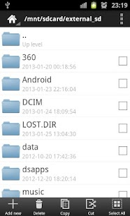 ER Explorer(File Manager) - screenshot thumbnail