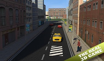 Screenshot of Taxi Driver 3d Simulator