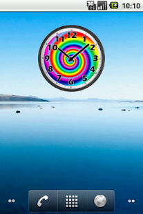 Psychedelic Analog Clock - screenshot thumbnail