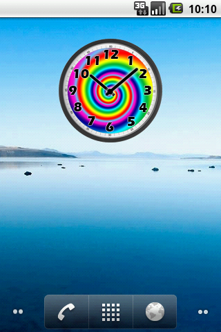 Psychedelic Analog Clock - screenshot