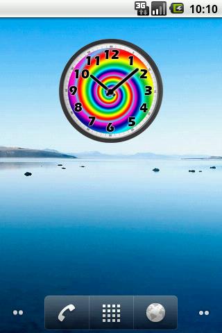 Psychedelic Clock - screenshot
