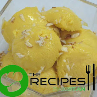 Mango Ice Cream.