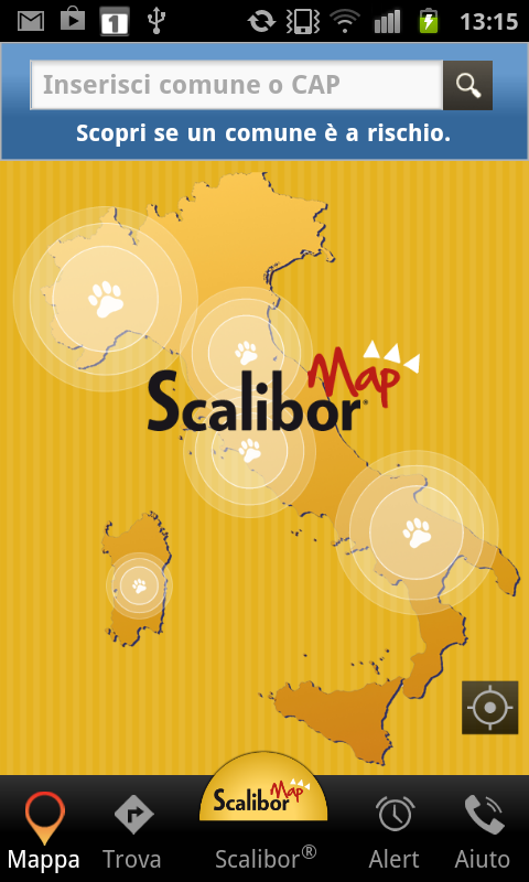 Scalibor®Map- screenshot