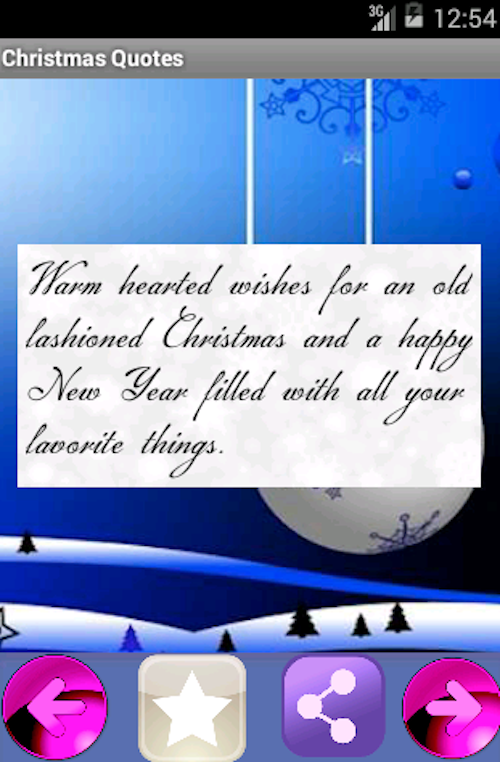 New Year SMS 2014 - screenshot