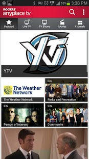 Rogers Anyplace TV [Expired]- screenshot thumbnail
