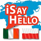 iSayHello Italian - Polish icon