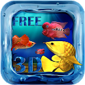 Arowana Fish 3D Live Wallpaper icon