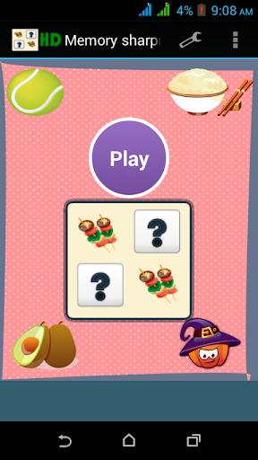 Memory Sharpner matchup game