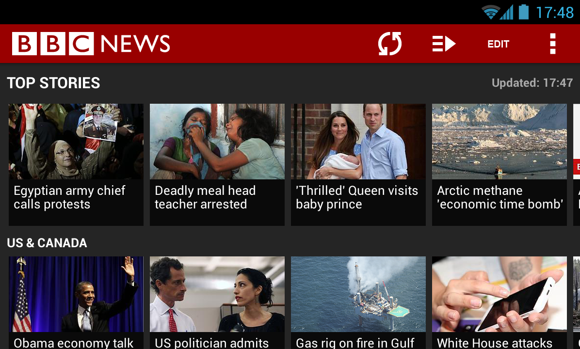BBC News - screenshot