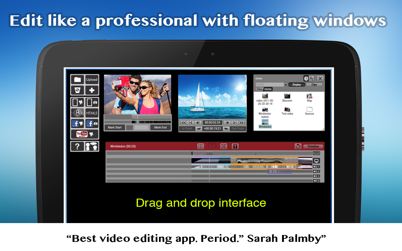 Clesh Video Editor: captura de pantalla