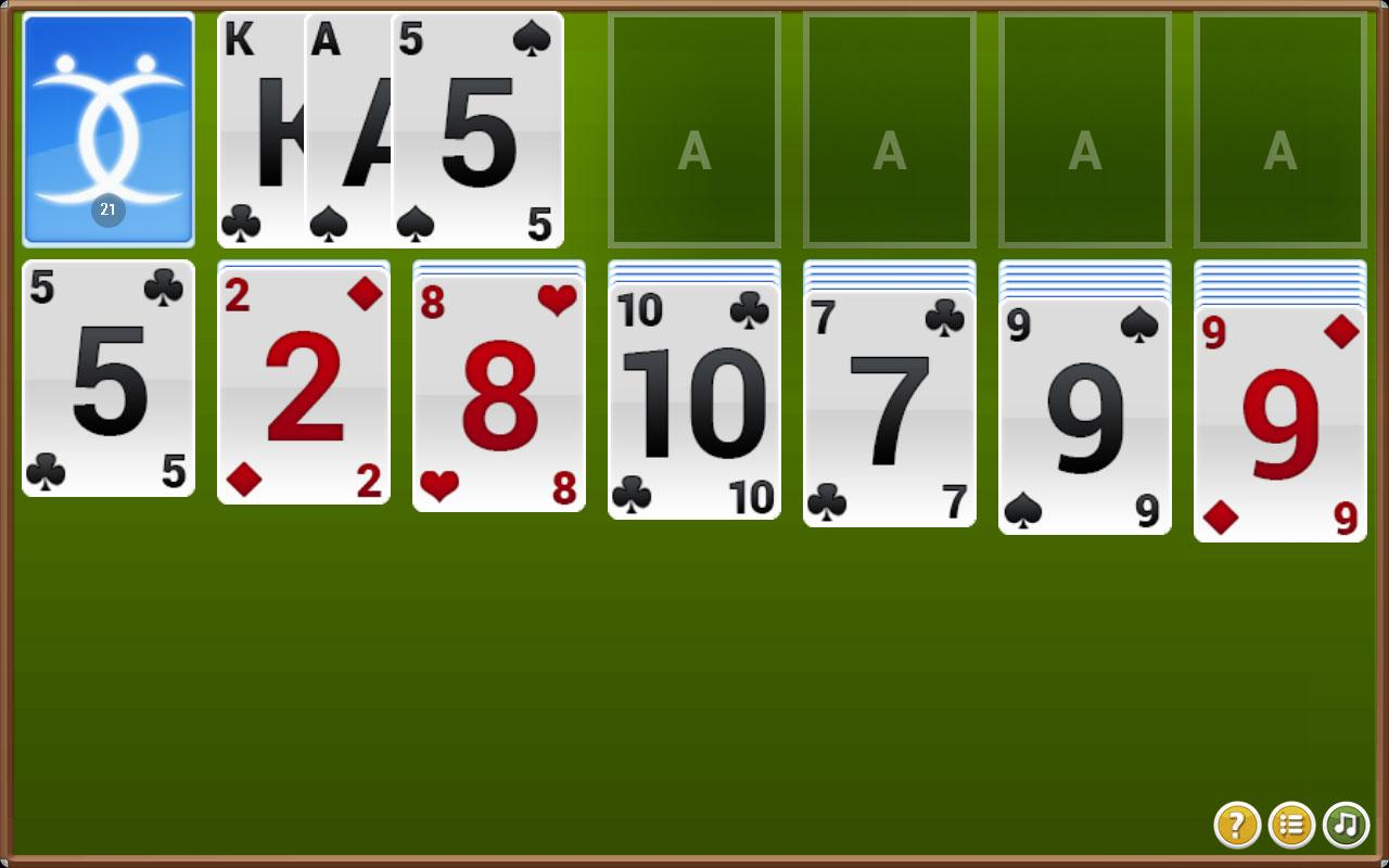 double klondike solitaire 3 card