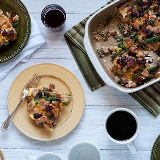 Gluten Free Thanksgiving Leftovers Strata