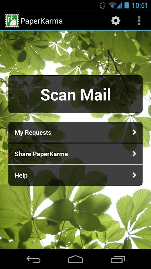 PaperKarma - screenshot