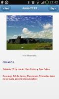 Screenshot of Feriados Chile 2015 Calendario