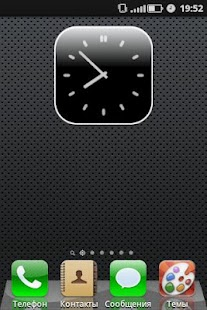 Black iPhone Theme for CM7 - screenshot thumbnail