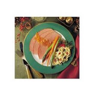 Tangy Dijon Glazed Ham.