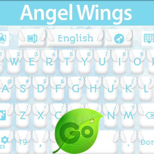个人化の天使の羽キーボード LOGO-記事Game