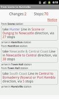 Screenshot of Sydney CityRail