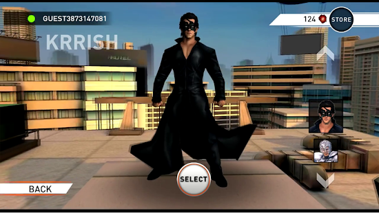Krrish 3: The Game- screenshot thumbnail