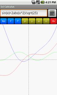 Sci Calculus- screenshot thumbnail
