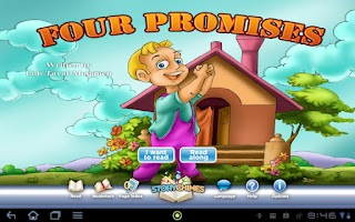 Screenshot of Four Promises StoryChimes