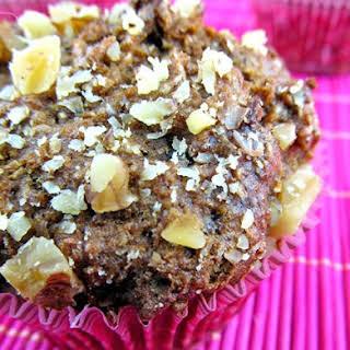 Fig Walnut Bran Muffins.