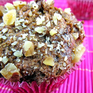 Fig Walnut Bran Muffins.