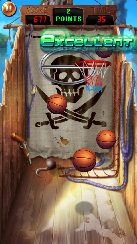 Pocket Basketball- screenshot