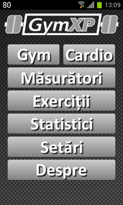 GymXP - versiunea română- screenshot