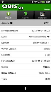 QBIS Service Desk Android- screenshot thumbnail