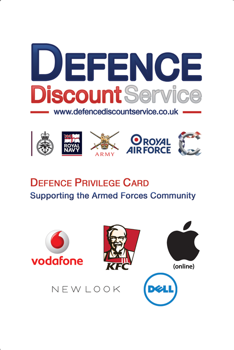 Defence Discount Service- screenshot