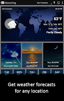 Screenshot of News & Weather