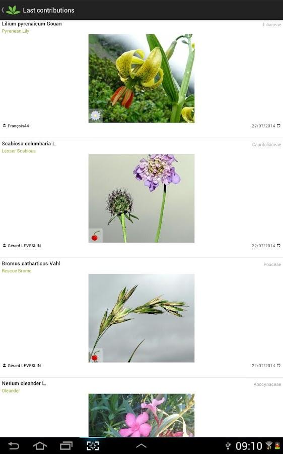 PlantNet Plant Identification - screenshot