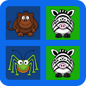 Memory Kids Game - Animals