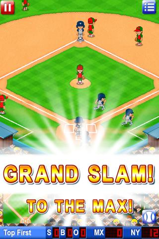 Big Hit Baseball Free - screenshot