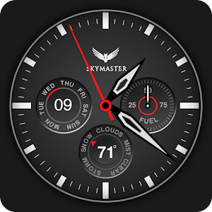 Skymaster Pilot Watch Face