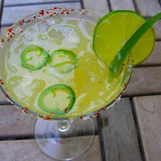 Icy Spicy Margarita.